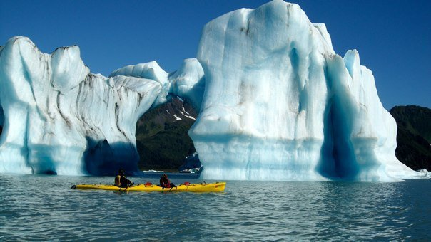 Kayak and Canoe 9/13/2010 Photo of the Week: Bear Glacier Lake, Seward, AK photo by Steve Perko. It was a tough call with so many awesome pictures.