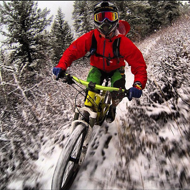 MTB Backcountry Athlete Andrew Whiteford not quite ready to make the seasonal transition.  http://instagr.am/p/RK9SV2hgNK/