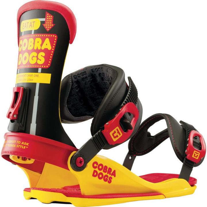 Snowboard More flexible than the menu options at Cobra Dogs. The Union Binding Company Contact Binding: http://bit.ly/W7d2eV