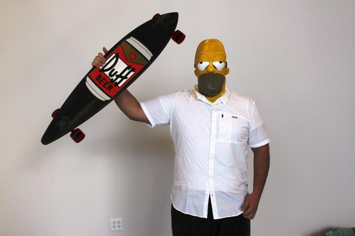 Skateboard http://bit.ly/nd6N59 (Duff pintail)
