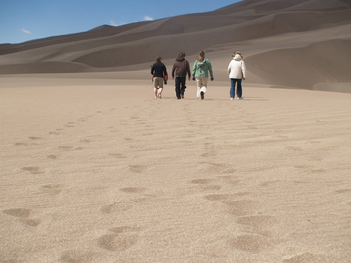 Camp and Hike Great Sand dunes Colorado