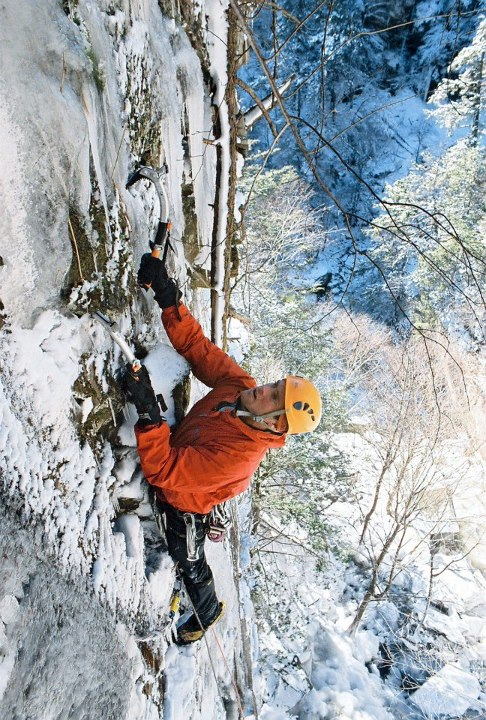 Climbing While skiing and snowboarding are beloved around here, this Travel Tuesday we're daydreaming about other outdoor adventures.  This picture is from our Catskills Ice Climbing Weekend Getaway, an REI Adventures Trip designed for beginners & intermediate cli