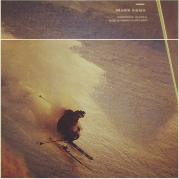 Entertainment Mark Abma in last months #powdermag with a #contourcamera http://instagr.am/p/QcnT_Wstkt/