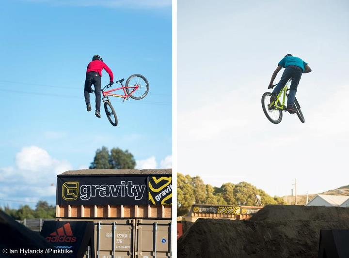 MTB Whipping. Cam McCaul and Paul Genovese © Ian Hylands 2012