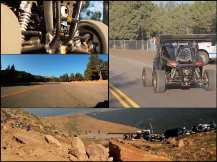Auto and Cycle Pikes Peak hill climb. Full edit releasing tomorrow.  Watch the teaser on the Contour blog: http://bit.ly/P1O1e0