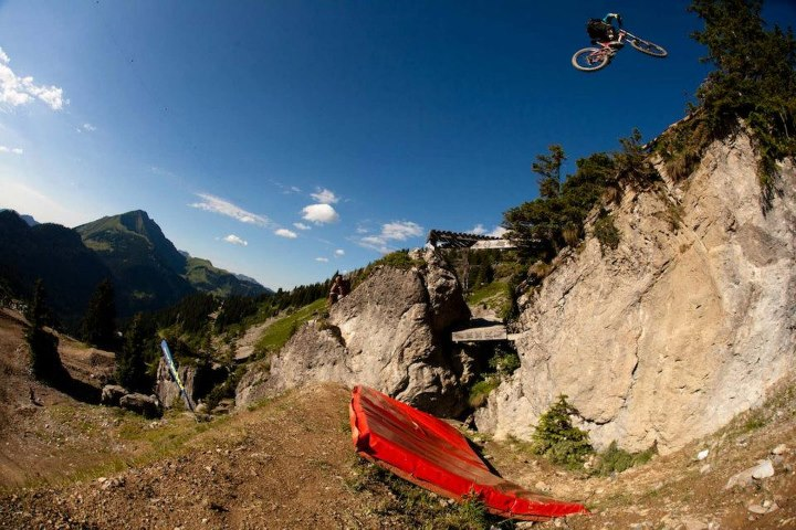 MTB Cam Zink went big at the 2012 Chatel Mountain Style and landed himself a 2nd place!   More photos and info on Pinkbike