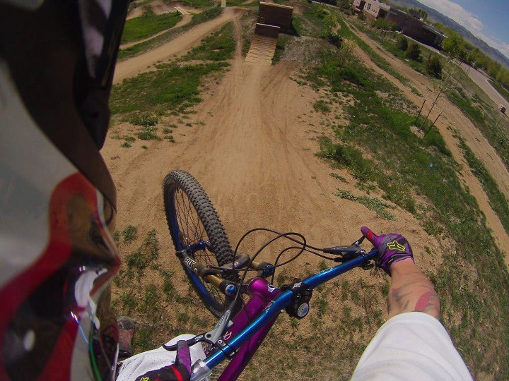 MTB CONTOUR fan, Theron Tate, riding the bike park in Boulder, CO.  Check out the video here: http://contour.com/stories/valmont-bike-park--3