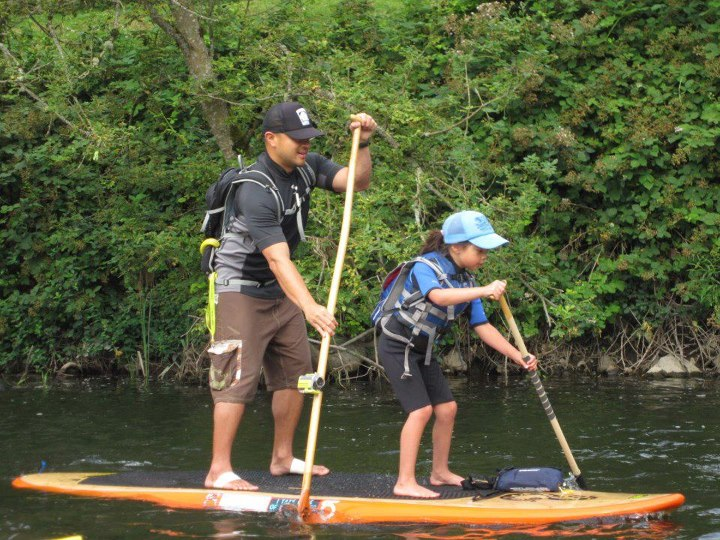 Wake Contour fan Joel Yang captured a recent SUP race with his daughter using a paddle mounted camera!