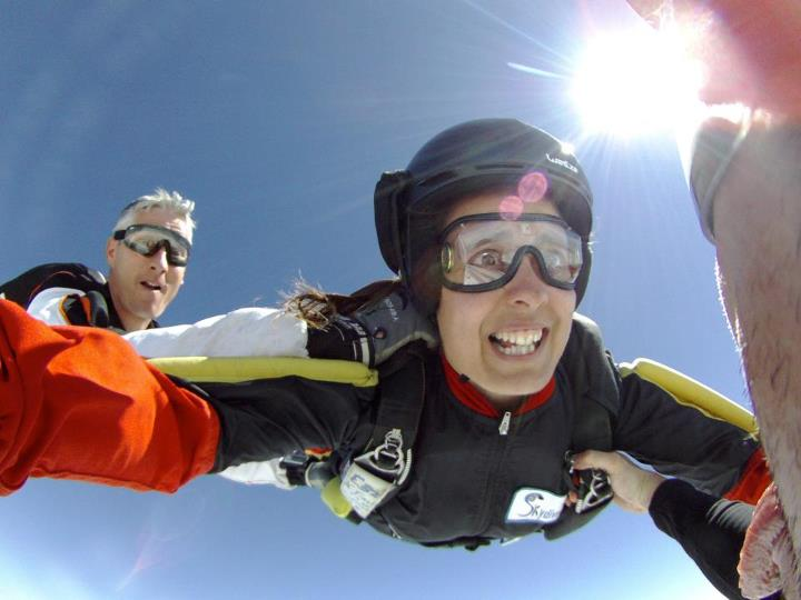 "Extreme ""Believe it! You're free falling!"" from CONTOUR fan Stef M.  Submit your images and view the gallery- http://bit.ly/NJeooo"