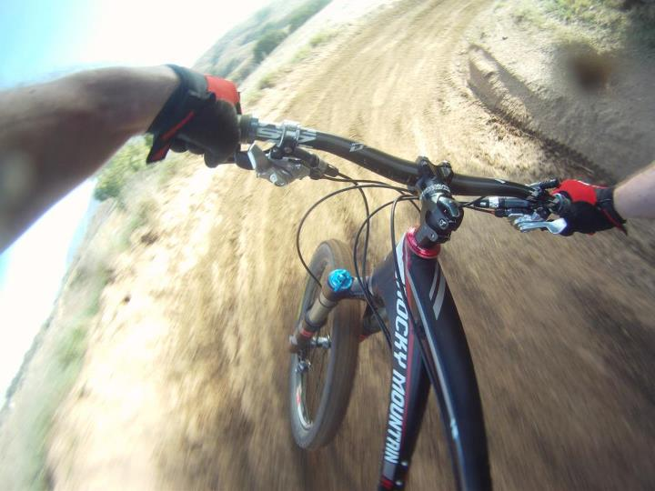 Fitness Having a Blast on My Rocky Mountain Bicycles Slayer 70.
