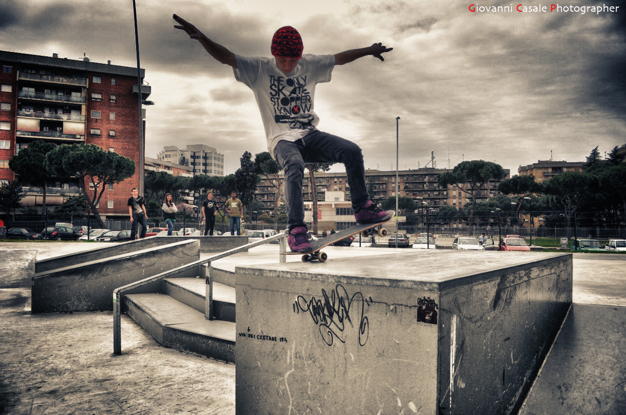 Skateboard From Skatepark CONCRETE, location: Roma, Italy