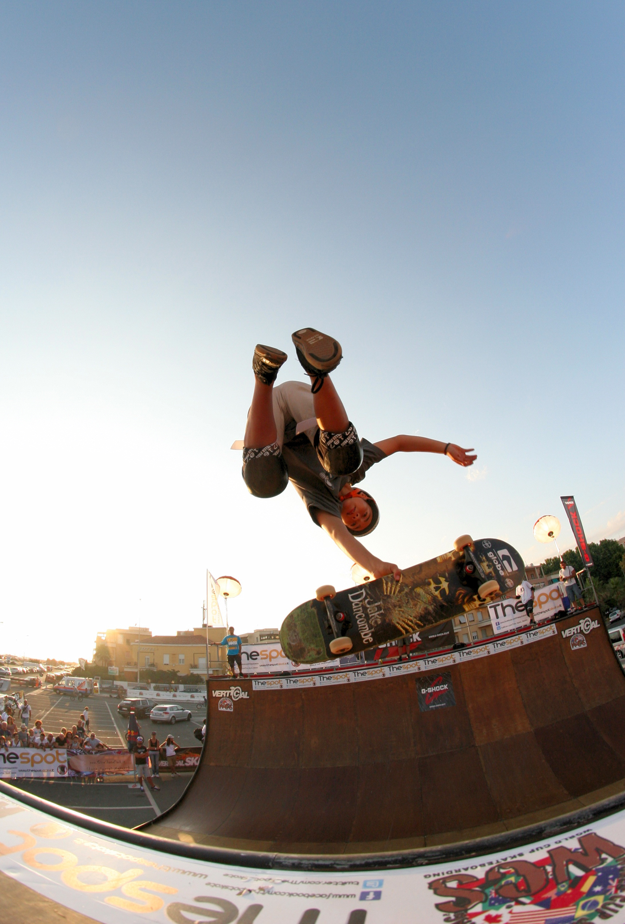 Skateboard Alex Sorgente from Worl Cup Skateboarding 2011, Location: Ostia, Roma, Italy