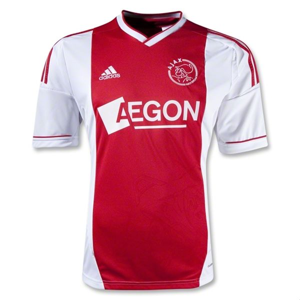 Entertainment Mens Ajax Home Soccer Jersey 12/13