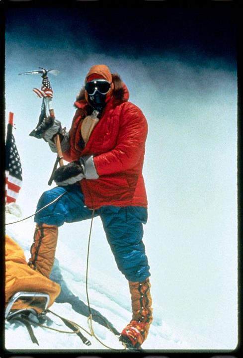 Climbing It's Flag Day! In 1963, Jim Whittaker flew the American flag upon reaching the summit of Mount Everest - it was the first American ascent of the tallest mountain on earth. Where will you fly your flag today? http://ar.gy/1GD1