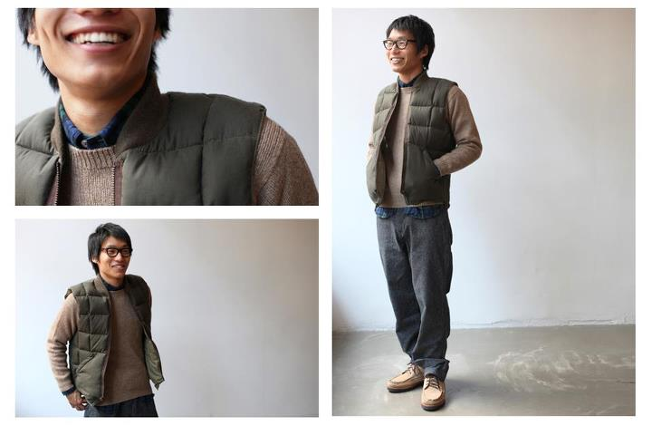 Entertainment Inventory magazine test drives the moss green Canadian Vest by Nigel Cabourn for Eddie Bauer: http://getoutsi.de/nL9Wjk