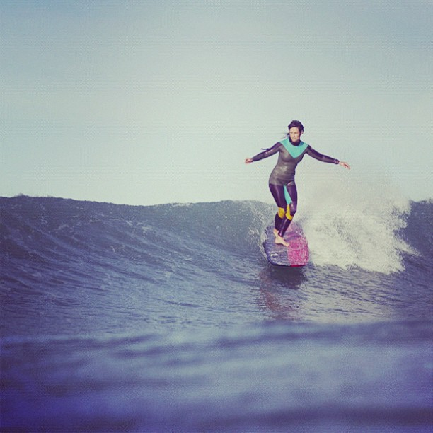 Surf Kassia taking flight #kassiameadorwetsuits  http://instagr.am/p/Q6G5h-MIvO/