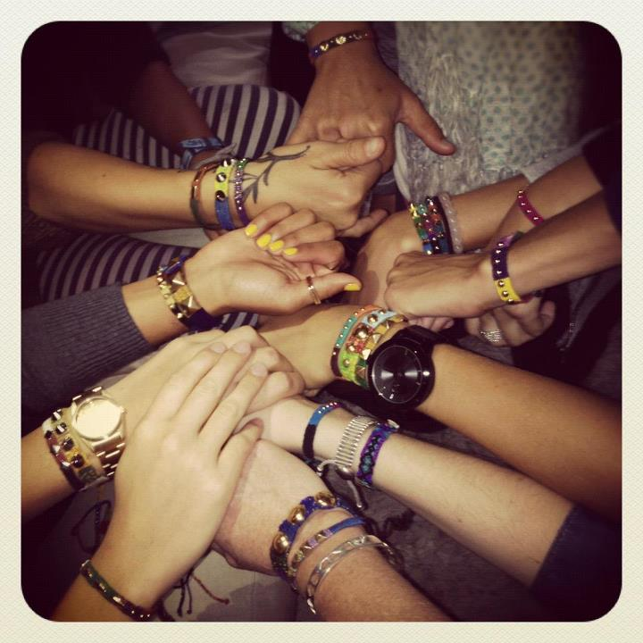 Entertainment New friends made #friendshipbracelets