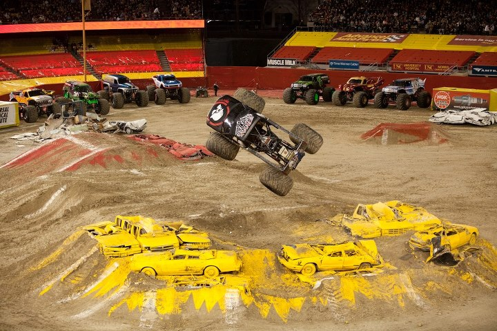 Motorsports Who is going to see Brian Deegan in the Metal Mulisha Monster Jam truck tear it up at the Metrodome in Minneapolis, MN this weekend?  Go to MonsterJam.com if you do not have your tickets yet!