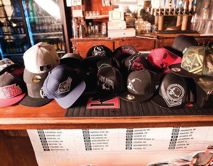 Entertainment We just stoked up on a grip 82 different styles of hats! Visit our website and view the rest of our collection.  http://www.metalmulisha.com/shop/clothing/mens-axs/hats-new-era/?limit=all