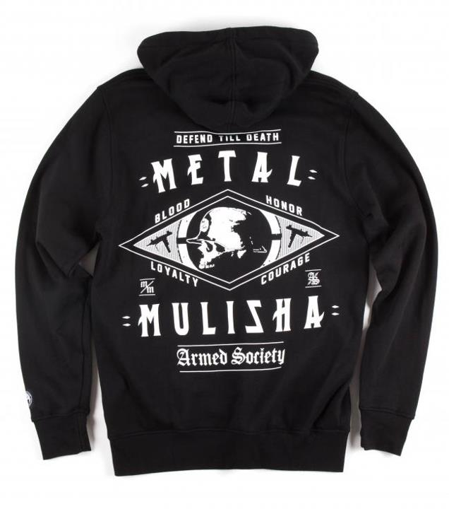 Motorsports FOUR CORNERS ZIP HOODIE Style #: M425S22412 $52.00 Metal Mulisha Mens zip hoodie. 80% cotton 20% poly zip front fleece with oversized back and front screen print http://www.metalmulisha.com/shop/clothing/mens/four-corners-zip-hoodie/
