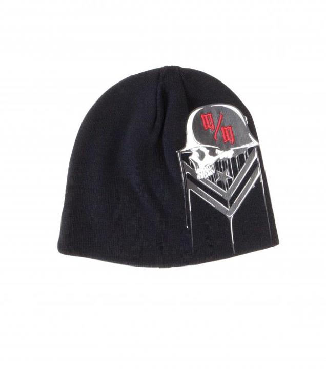 Motorsports BLACK ICE BEANIE Style #: M42591401 $22.00 Metal Mulisha Mens beanie. Screenprint with embroidery and clip label at center back. http://www.metalmulisha.com/shop/clothing/mens-axs/hats-new-era/black-ice-beanie/