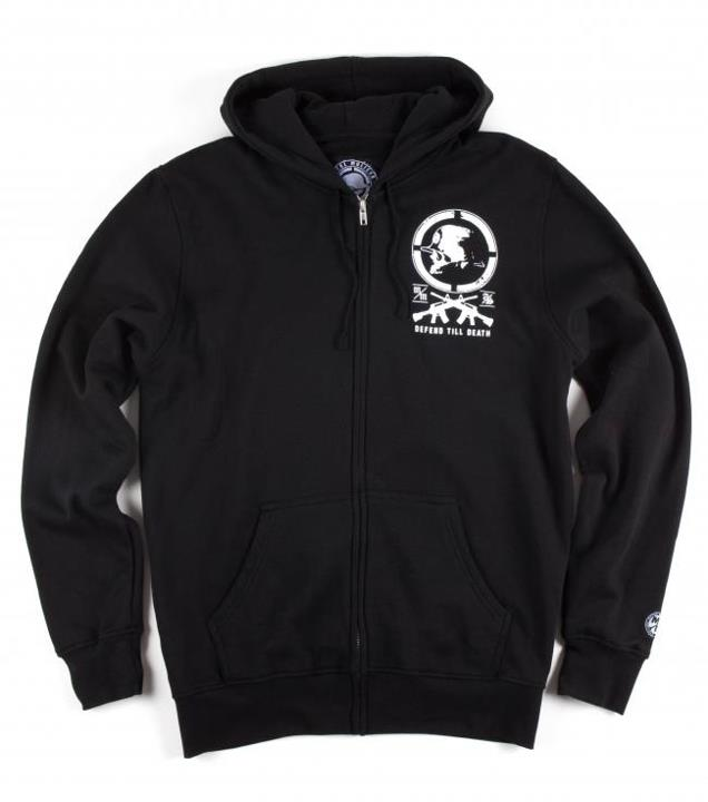 Motorsports FOUR CORNERS ZIP HOODIE Style #: M425S22412 $52.00 Metal Mulisha Mens zip hoodie. 80% cotton 20% poly zip front fleece with oversized back and front screen print. http://www.metalmulisha.com/shop/clothing/mens/fleece/four-corners-zip-hoodie/