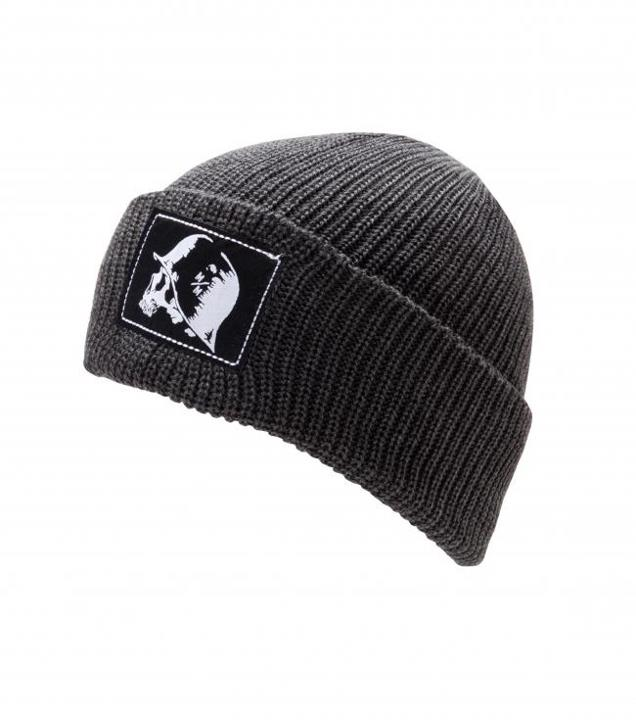 Motorsports SINGLE FILE BEANIE Style #: M42591402 $22.00 Metal Mulisha Mens Single File Beanie. Loose knit heathered charcoal beanie with jaquarded patch at wearersleft side. http://www.metalmulisha.com/shop/clothing/mens-axs/hats-new-era/single-file-beanie/