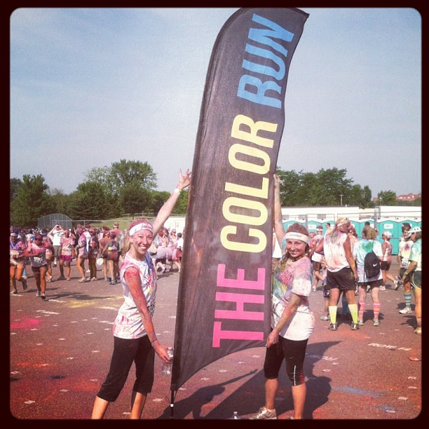 Fitness Color Run 2012! Get ready Minnesota, I'm coming back for 2013 Color Run!