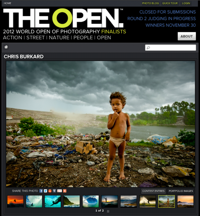 Entertainment Check out some the images i have in the finals of The Open photography Contest! http://theworldopen.com/portfolio/chris-burkard/5469