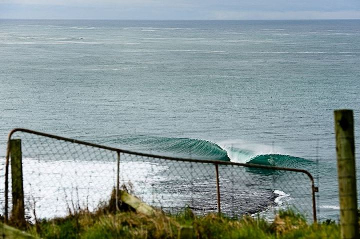 Surf Sometimes you have to break a few rules & hop a few fences