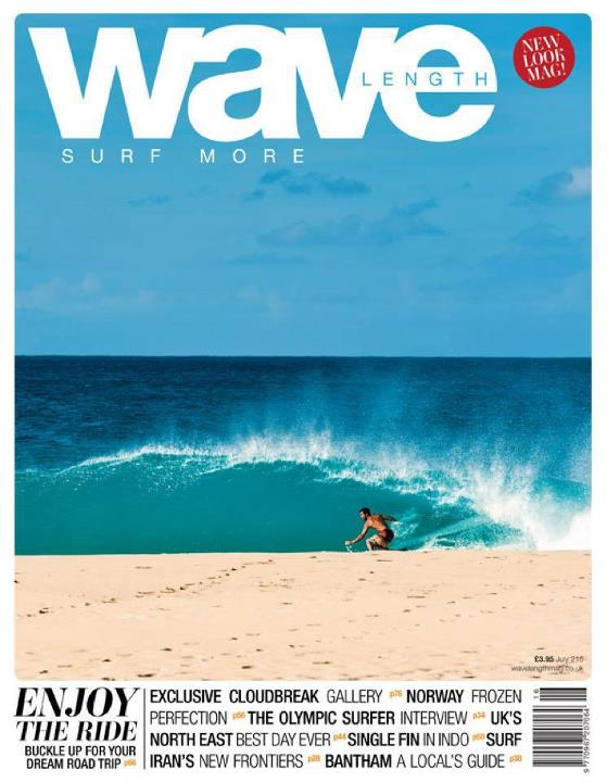 Surf Newest cover! Wavelength mag uk- Ben Bourgeois in the caribean