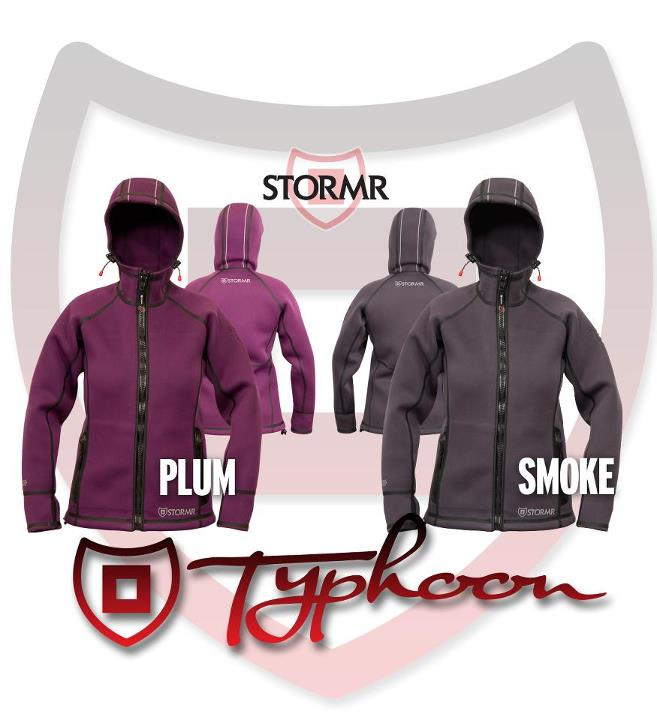 Entertainment Anatomically designed, tailored, and colored for the Ladies - the Women's TYPHOON series jacket comes in two new colors options: Smoke, and Plum.    Which color would she like / does she like? http://stormrusa.com/typhoon/