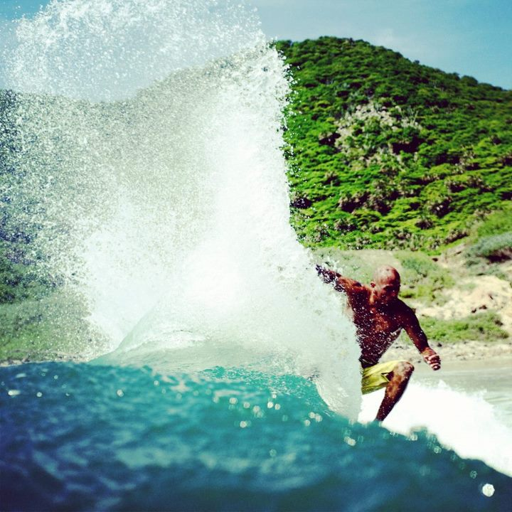 Surf This trip to Mexico was hot, insanely hot! Kelly Slater cooling off with a crisp afternoon snap. 