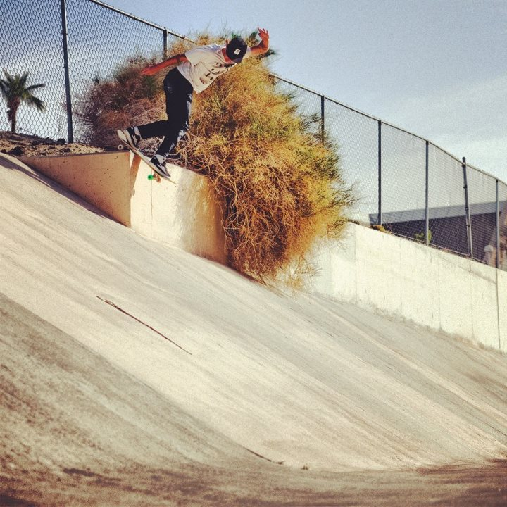 Skateboard Have a drainage ditch nearby?? We recommend exploring it, you never know what you might find.... Riley Hawk?