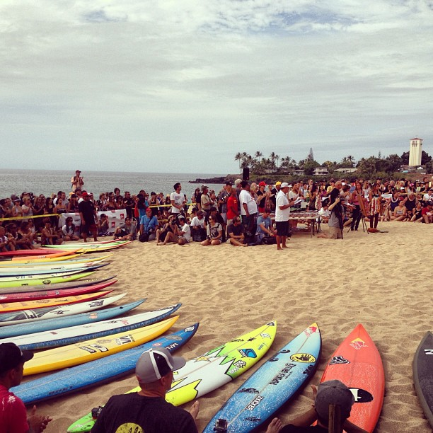 Entertainment The invitees and alternates are being introduced now by the legendary Mark Cunningham #eddiewouldgo  http://instagr.am/p/Sosc2wCPJu/