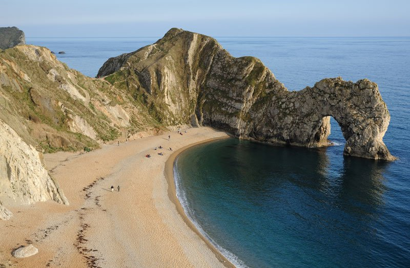 Camp and Hike Picture of the Day: The Durdle Door Limestone Arch