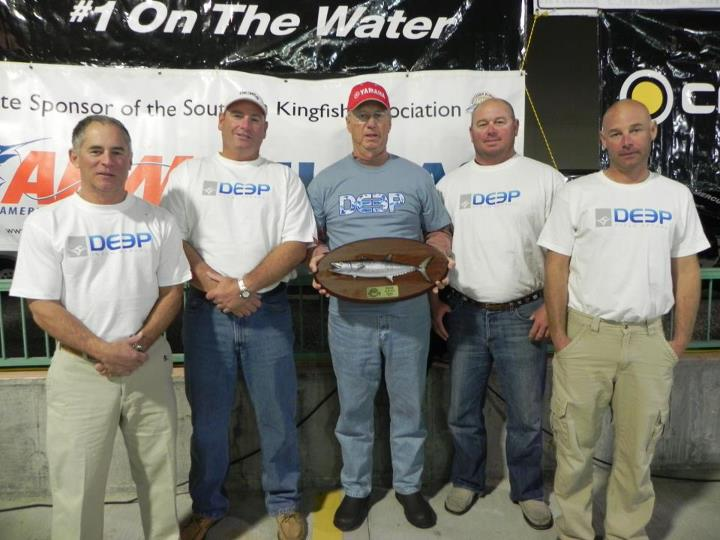Entertainment Team Yates Sea won their division in the South Carolina open class in the Southern Kingfish Association.  Way to go!