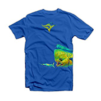 Fishing Deep Mahi Wrap- Signature Series by Mike Savlen  www.deepoceanappare.com
