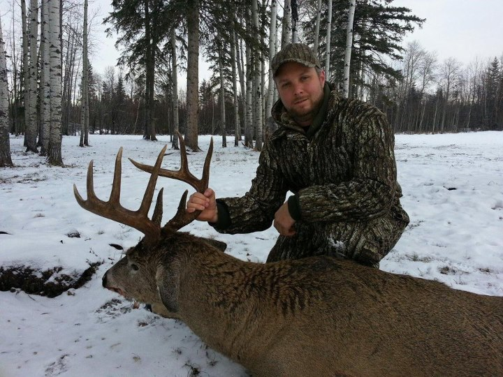 Hunting Check out this 300 lb Alberta bruiser killed by Sean Kelly of Maryland.  ~ Andy