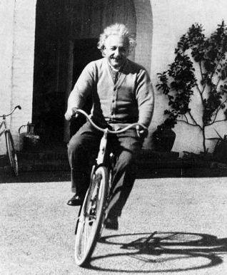 Fitness I thought of that while riding my bicycle.
