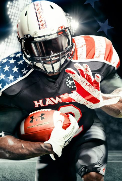 Sports Innovation meets inspiration. Today, Hawai'i is hosting UNLV wearing head-to-toe customized Wounded Warrior Project uniforms, in honor of those who PROTECT THIS HOUSE here and abroad. Hawai'i, This Is Your Armour.  Shop Under Armour Freedom here: http://b
