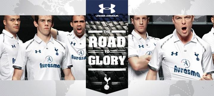 Sports We proudly present the Road to Glory. A competition to reward the most loyal Tottenham Hotspur fans. Think you're one of 'em? Click here to join. http://roadtoglory.ua.com