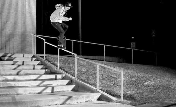 Skateboard Let's give a big Happy Birthday shout out to Nyjah Huston who turns 18 today!! Skate on!!