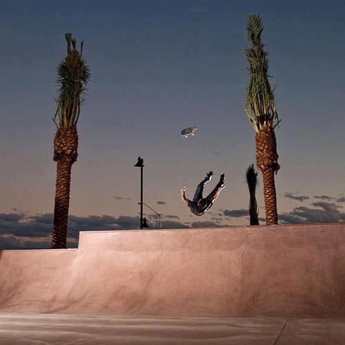 Skateboard Toy Machine's Josh Harmony is about to feel it.  Who has a good caption for it?  http://goo.gl/Z3GVk