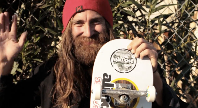 "Entertainment We have a strange suspicion Chris Haslam has been participating in ""No Shave November"" all year long.