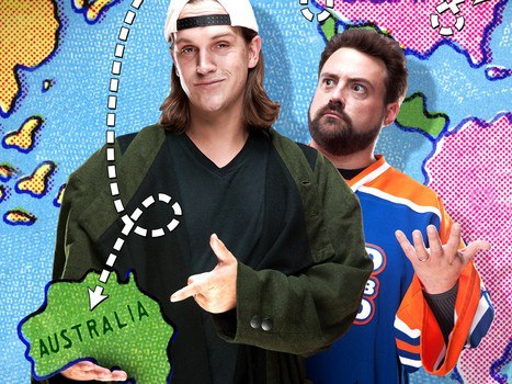 Entertainment Any fans of Kevin Smith, the US film director? Well here's an interview he just did where he talks about his visit to Australia and, yup, you guessed it, sharks! Enjoy your weekend everyone. http://www.examiner.com/article/filmmaker-kevin-smith-goes-down-
