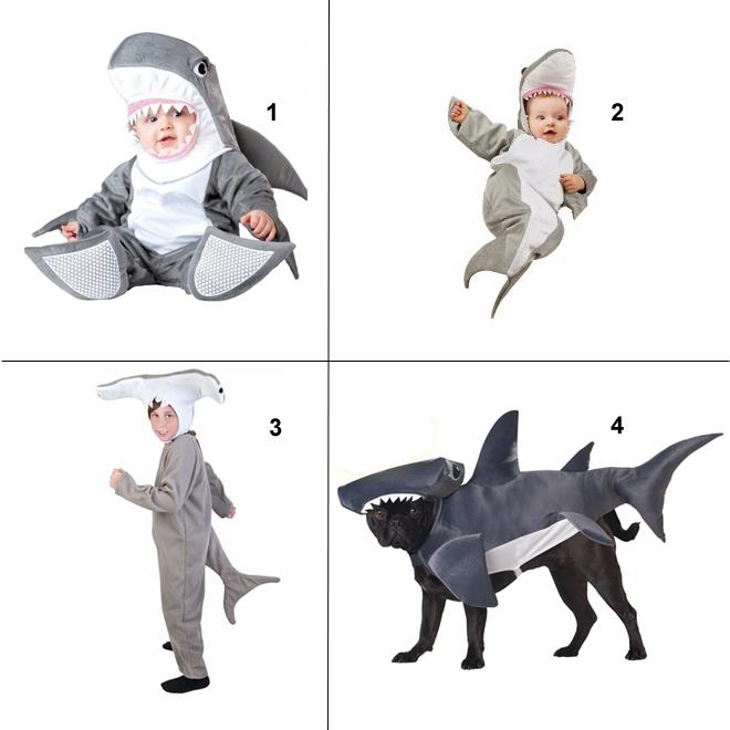 Entertainment In the US, everyone is getting ready for Halloween. Today on Twitter, there was a quite awesome shark costume for a dog. Inspired, we're now wondering: What's your favorite shark costume? Leave your vote and we'll tally...!