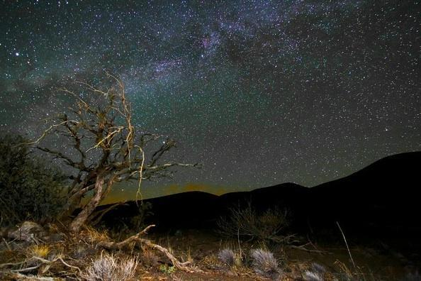 Camp and Hike Something a little different today but still beautiful. This starry landscape is by Joshua Lambus http://buff.ly/Pd6GUc