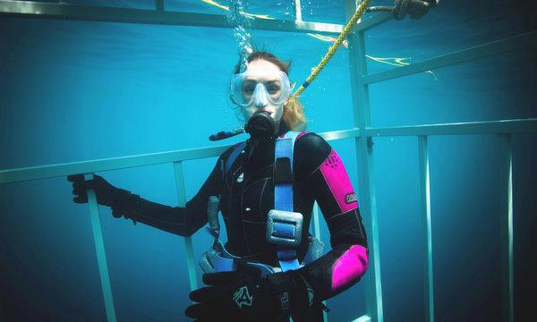 Scuba Nice interview with with Ashlan Gorse— Philippe Cousteau Jr's lady— on scuba diving with sharks. Give it a read! http://buff.ly/PtJWQy