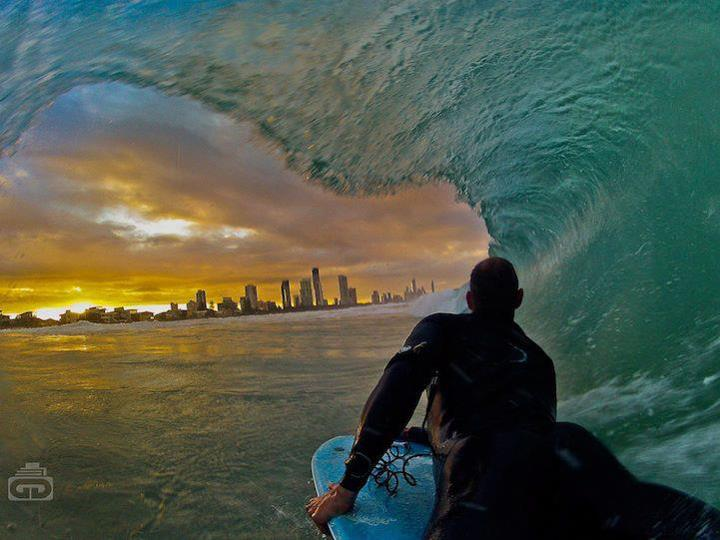 Surf There are some great images here of surfers, kayakers, kite surfers and other extreme sports. Take a look + happy Friday! http://www.mymodernmet.com/profiles/blogs/crazy-perspective-photos-gopro
